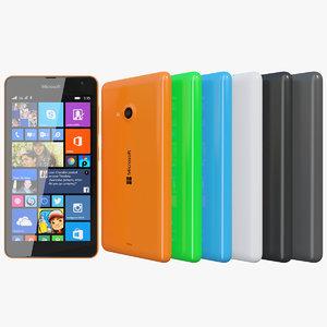 realistic microsoft lumia 535