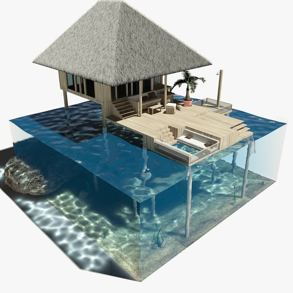 max overwater bungalow
