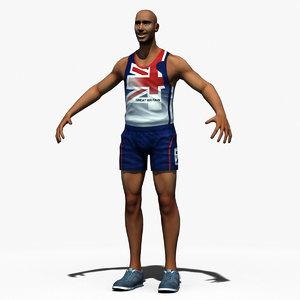 athletic runner max