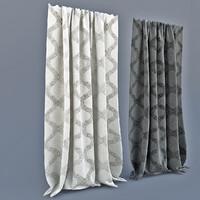 Curtains a modern style