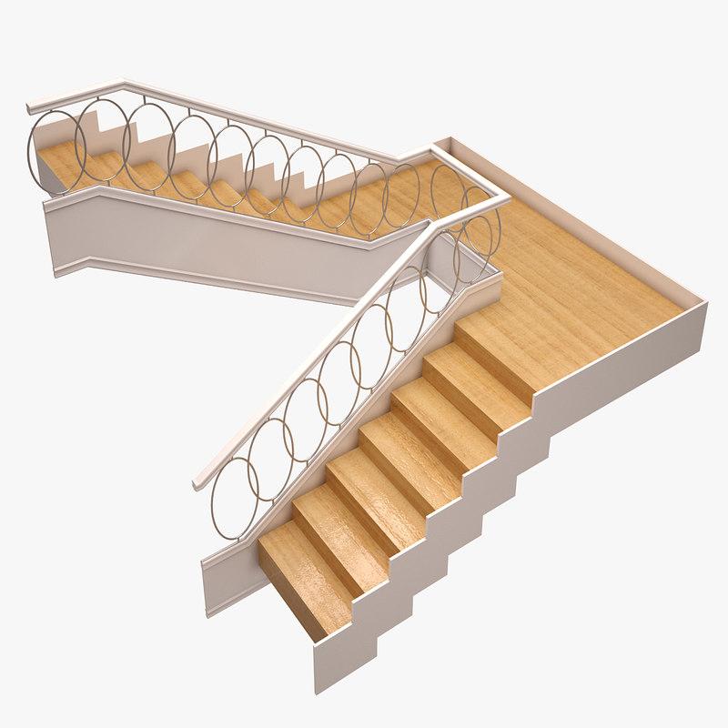 stair 3d model