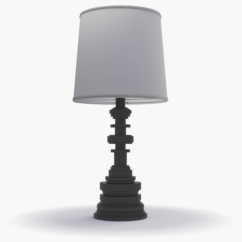 3d ironies- tibilisi table lamp model