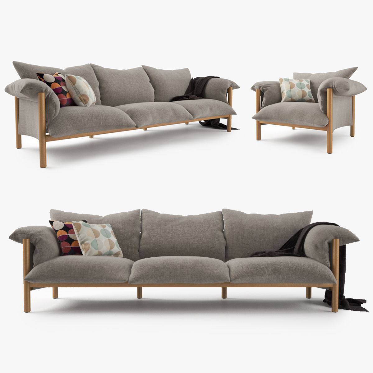 Stupendous Jardan Wilfred Sofa Chair Set Inzonedesignstudio Interior Chair Design Inzonedesignstudiocom