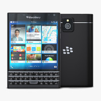 max blackberry passport black