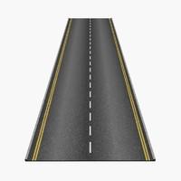road 3d model