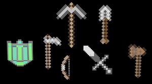 free c4d mode minecraft weapons shield