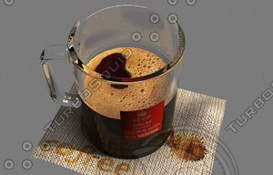 3ds max nescafe coffee cup