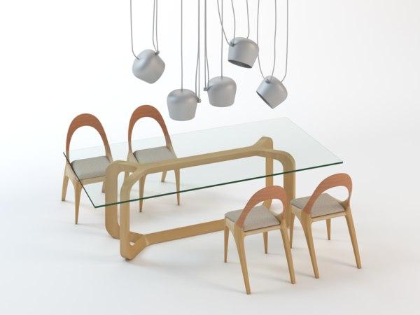3ds max sleek furniture