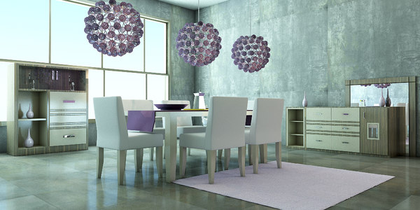 design dining room 3ds