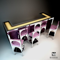3d visionnaire coliseum bar model