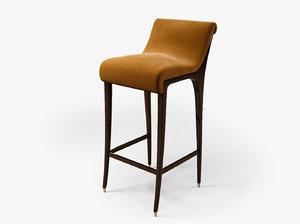 3d koket incanto bar stool