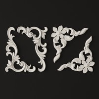 classical decoration ornamental 3ds