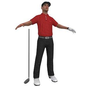 golfer player hat max
