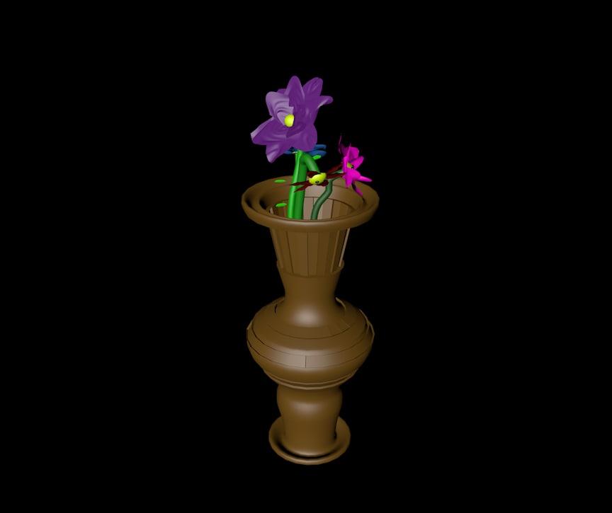 vase 3d c4d