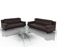 3d model group sofa 6500