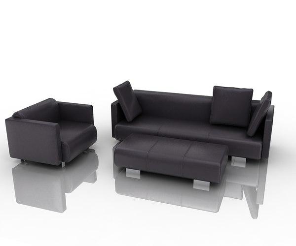 3d group sofa 6300