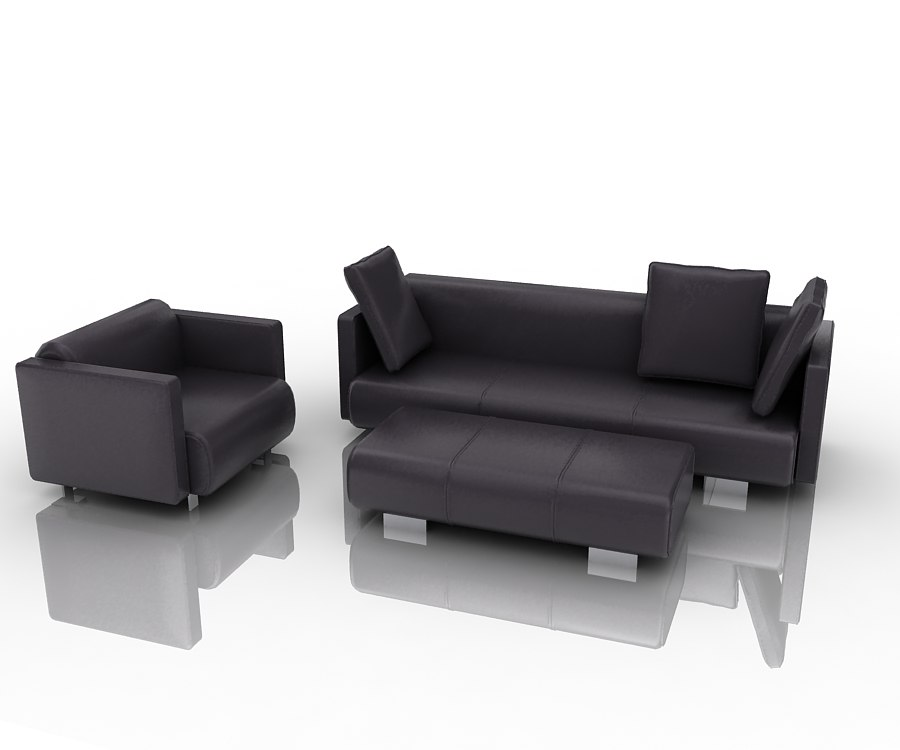 3d group sofa 6300