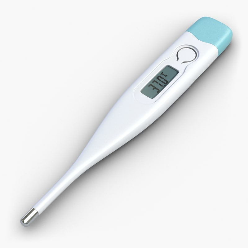 3ds digital thermometer
