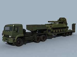 3d kamaz-65225 2s4 combo