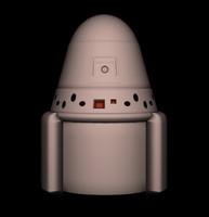 3d spacex pod