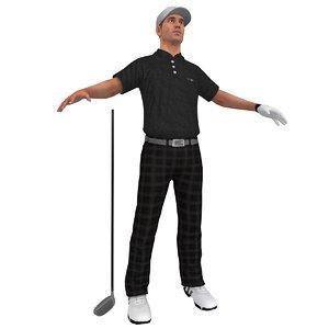 golfer player hat x