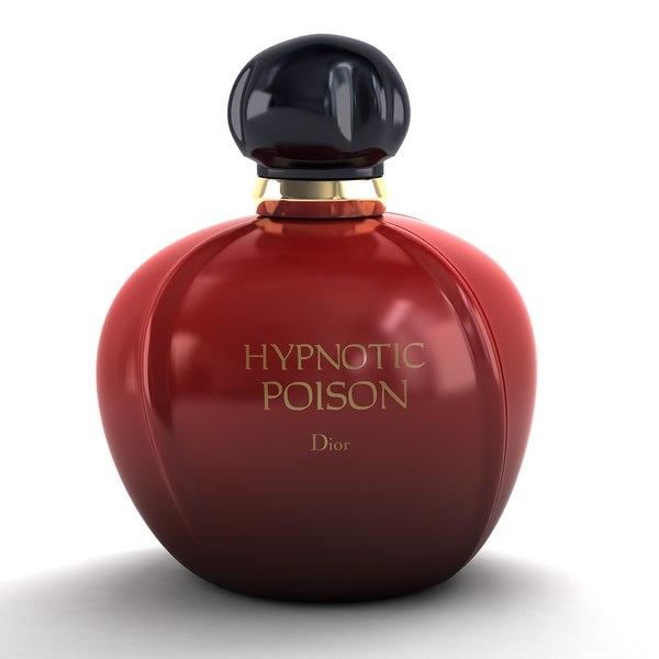 3d model dior perfume