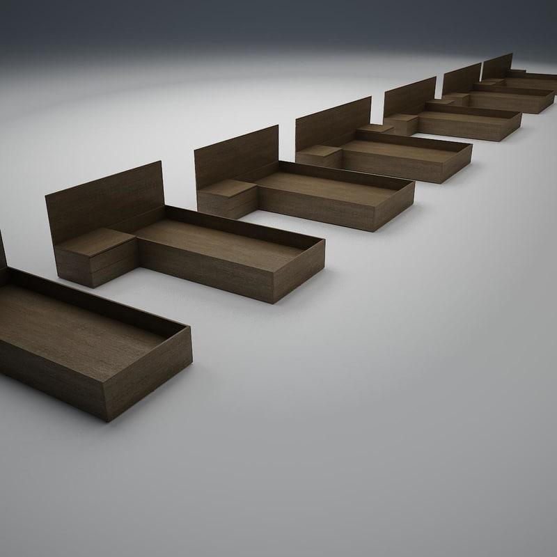 bed base 3d model