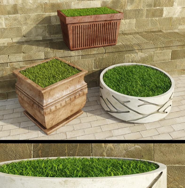 decorative grasses set max free