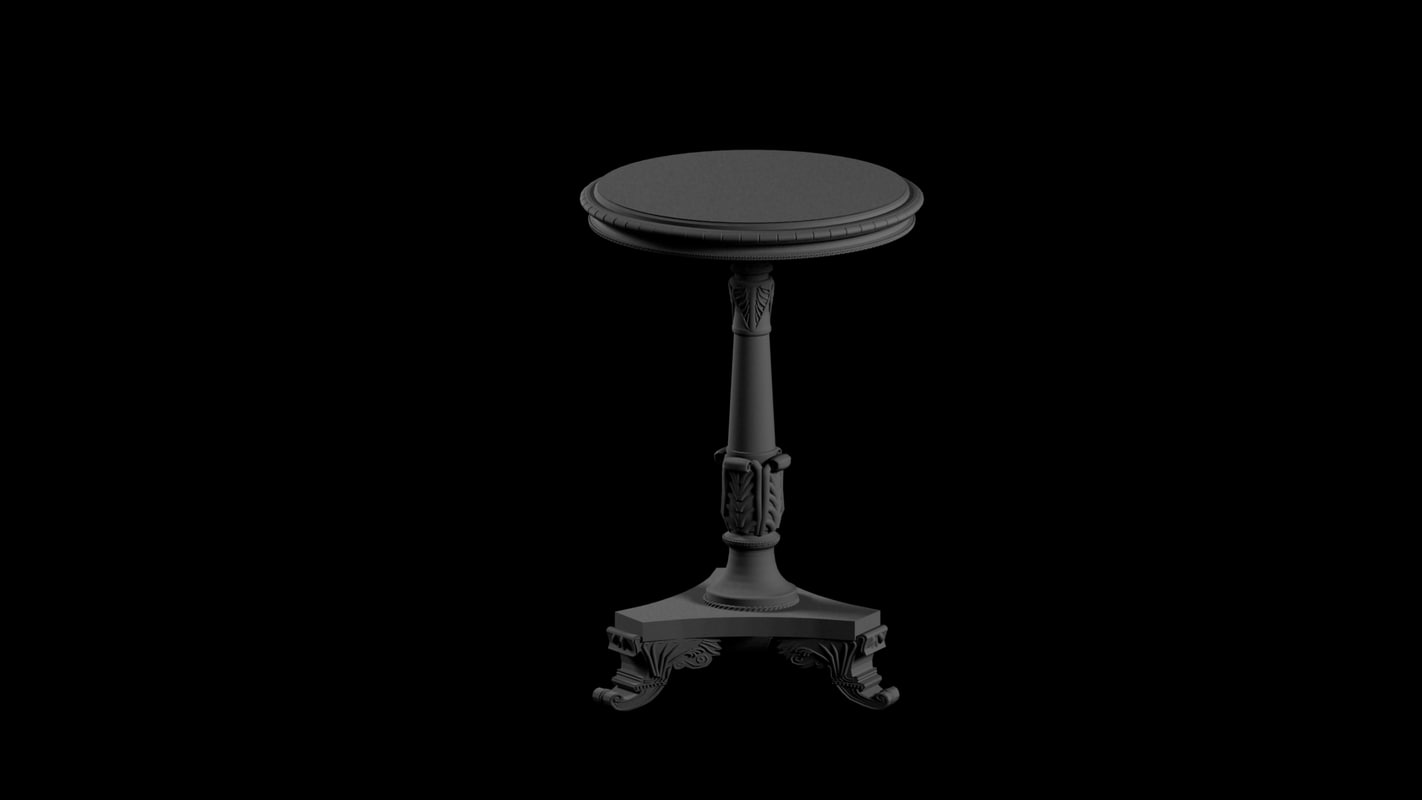 free max mode regency pedestal table