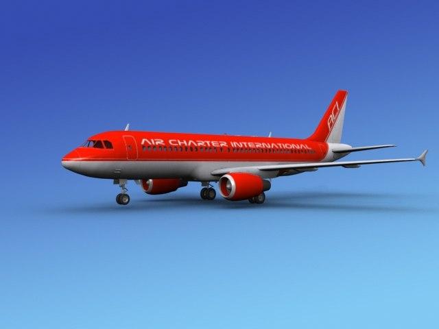 3d airline airbus