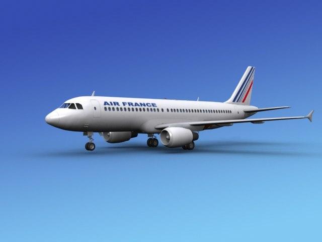 airline airbus 3ds