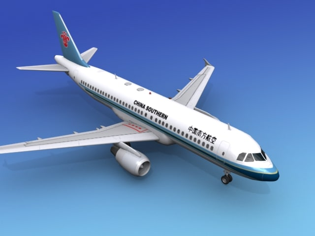 3ds max airline airbus