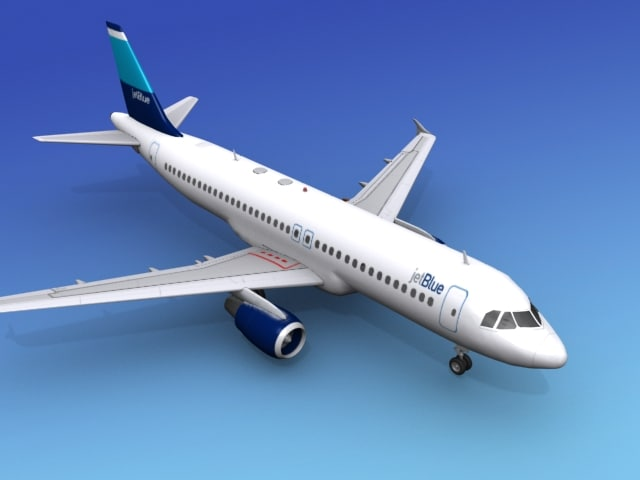 3ds max airline airbus jets