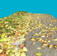 terrain 3 - grass 3d max