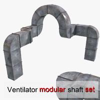 ventilator vent 3d model