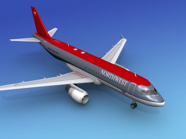 airline airbus 3d model