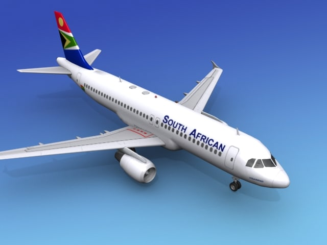 3d model airline airbus