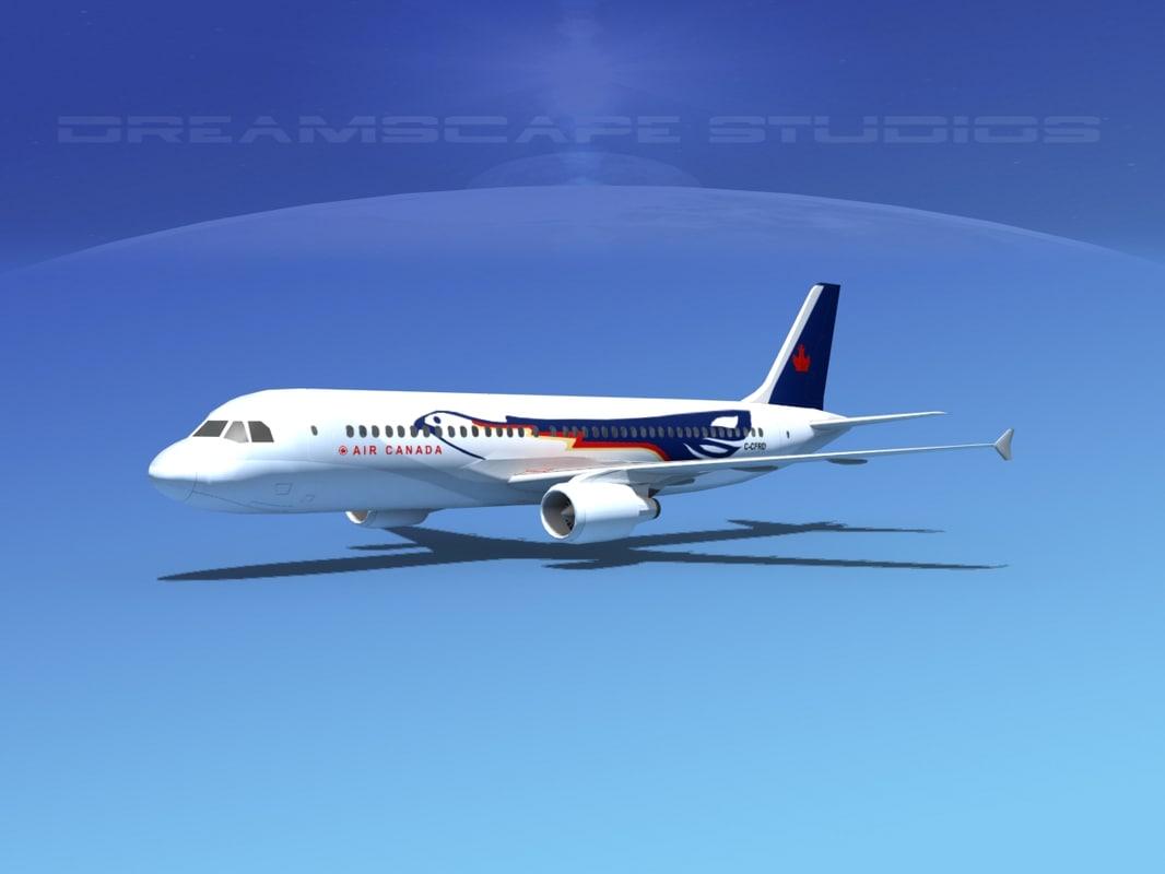 a320 airbus 3d max