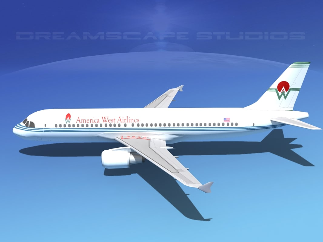 3d model a320 airbus airliners
