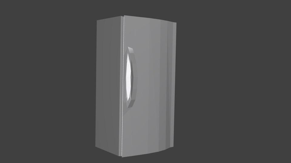 basic fridge obj free