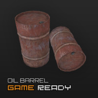 3d model ready barrel