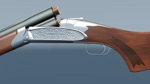 double barreled shotgun 3d 3ds