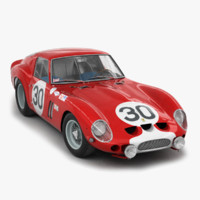 3d engine ferrari 250 gto
