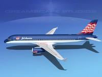 3d a320 airbus passenger jet