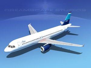 a320 airbus passenger jet 3ds