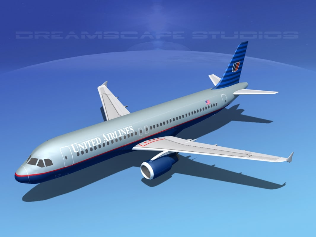 3d a320 airbus airliners