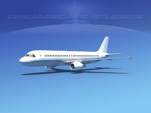 3d max a320 airbus