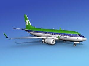 boeing 737-700 737 737-700er 3d model