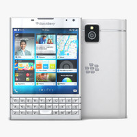 blackberry passport white c4d