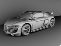 3d model r8 customized